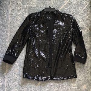 Black Sequin Jacket